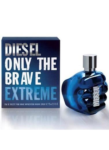 Diesel Only The Brave Extreme Edt 75 ml Erkek Parfüm Renksiz